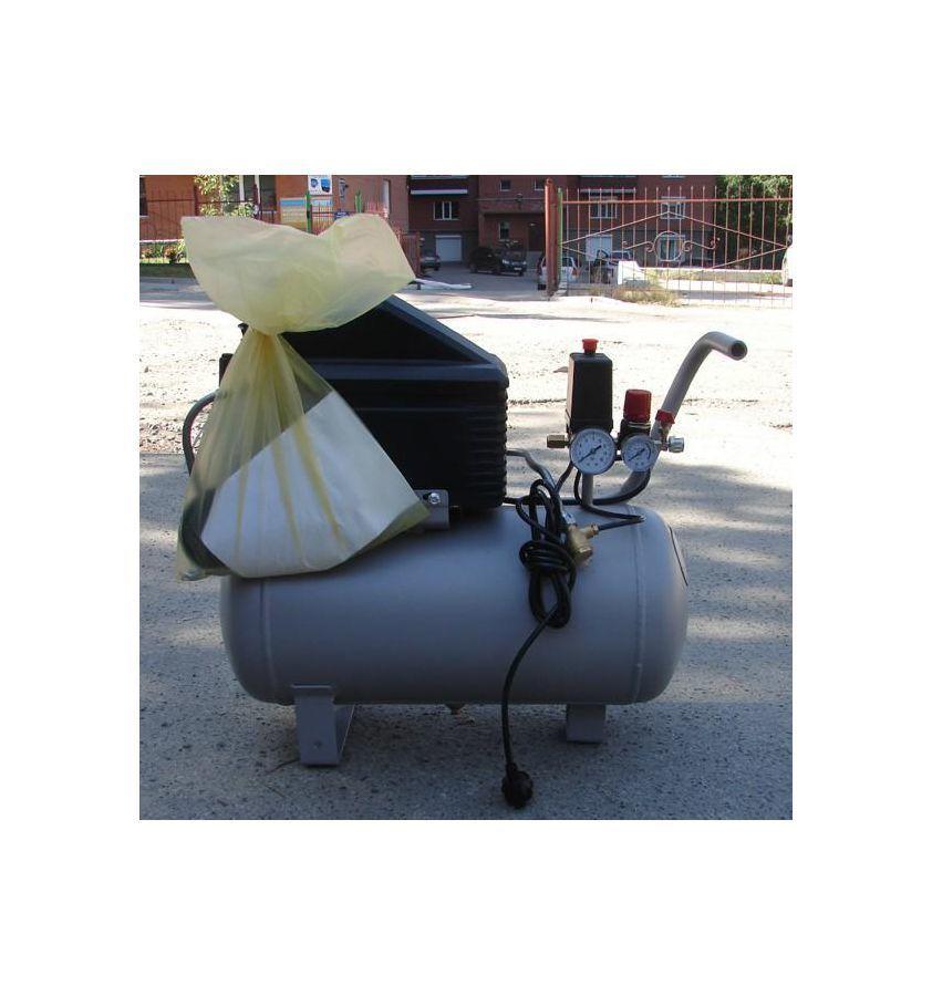 Компрессор поршневой безмасляный малошумный, с прямым приводом 24.OLD20-3 REMEZA : 250 л/мин., 8 бар, ресивер 24 л., 1,4 кВт, 380В