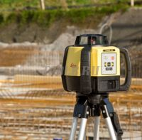 Комплект Leica Rugby 640 - ротационный нивелир купить с доставкой по России и СНГ