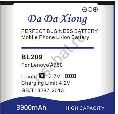 Аккумулятор BL209 3900 мАч Япония