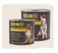 Brunch Влажный корм для собак с рубцом, 850 г