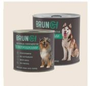 Brunch Влажный корм для собак с потрошками,  240 г