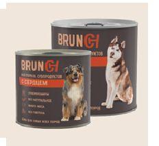 Brunch Влажный корм для собак с сердцем, 240 г