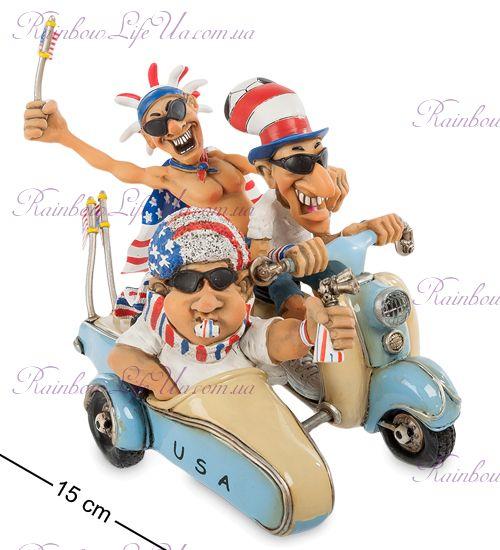 "Мотоцикл USA Fan-Attics ""W.Stratford"""