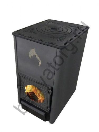 Печь отопительная Березка Комфорт 120 стекло