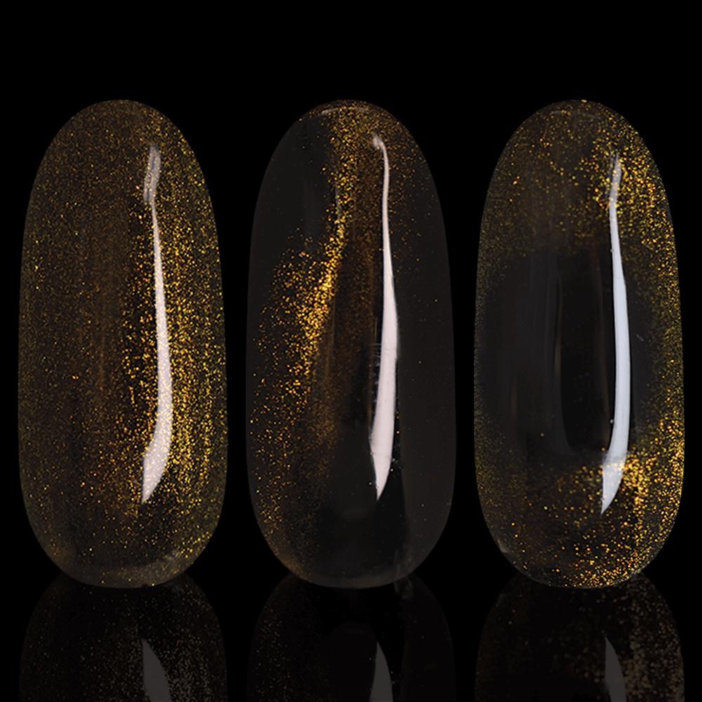 LAK'U гель-лак Cats Eye 5D Gold CE 504, 10 мл