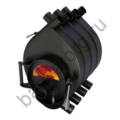 Печь отопительная Везувий АОГТ 01 дверца под стекло (200куб.м)
