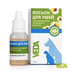 Veda Гигиенический лосьон для ушей,15гр