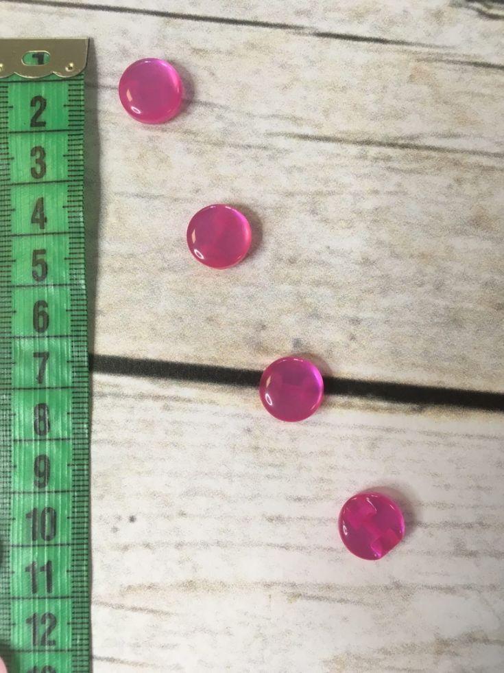 пуговицы леденцы розовые