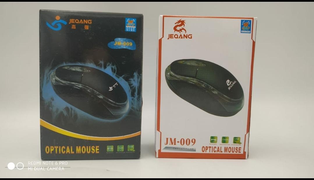 Мышка компьютерная JEQANG JM-009 проводная Black