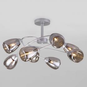 Потолочная люстра Eurosvet Noemi 30168/8 матовое серебро