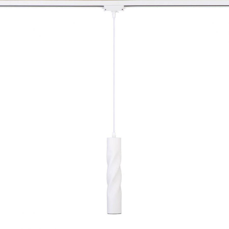 Трековый светодиодный светильник Eurosvet Scroll 50162/1 LED белый