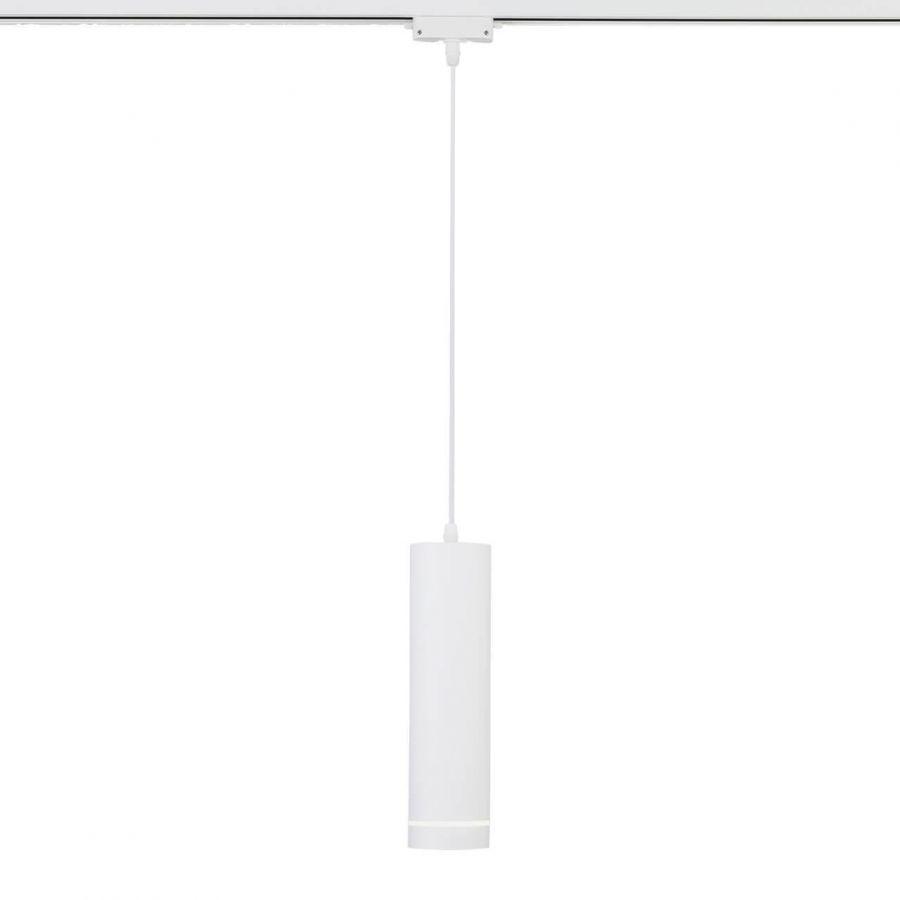 Трековый светодиодный светильник Eurosvet Topper 50163/1 LED белый