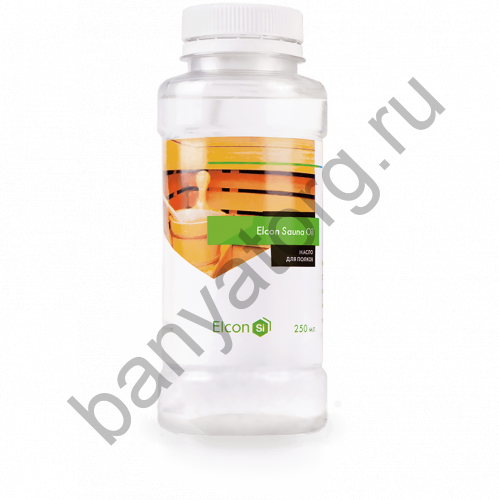 Масло для полков Sauna Oil (0.25л) ELCON