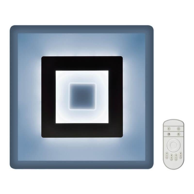 Потолочный светодиодный светильник Fametto Nimfea DLC-N501 38W GLASS/CLEAR