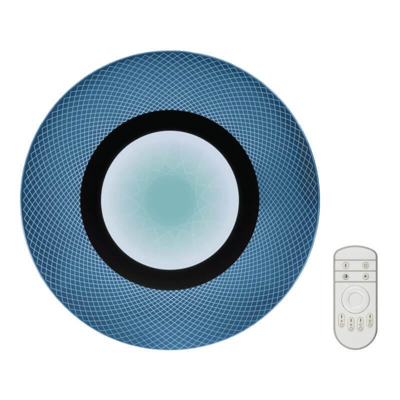 Потолочный светодиодный светильник Fametto Nimfea DLC-N502 34W ACRYL/CLEAR