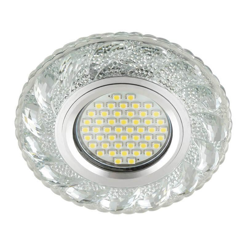 Встраиваемый светильник Fametto Luciole DLS-L147 Gu5.3 Glassy/Clear