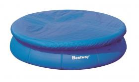 Тент для бассейна надувного круглого Bestway Pool Cover 495 см