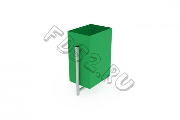 Урна Прямоугольная                                           370х250х650(МФ 06-502)