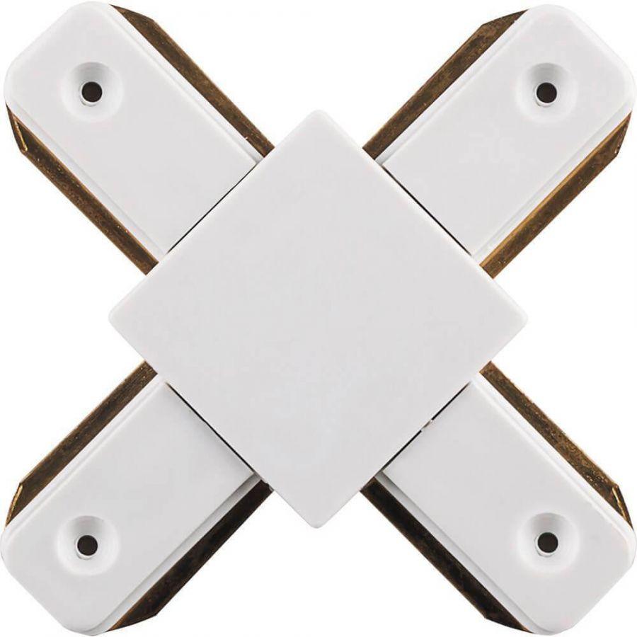 Коннектор Х-образный для шинопровода Feron LD1002 10330