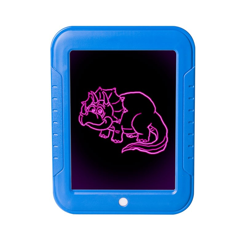 Волшебный планшет для рисования с подсветкой Magic Sketchpad, цвет Синий