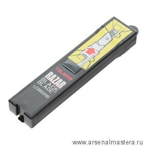 Лезвия TAJIMA RAZAR BLACK 25 мм обламывающиеся 10 шт с покрытием черные в футляре CB65RBC/K1