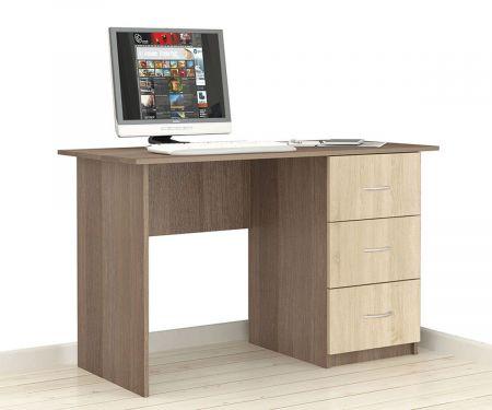 """Письменный стол """"Сити -1"""" ясень шимо"""