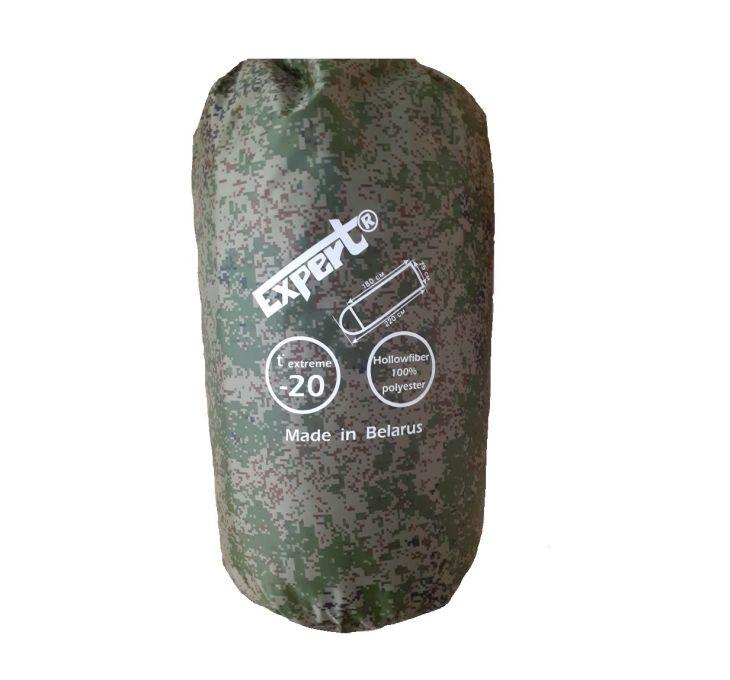 Спальный мешок-одеяло армейский Expert -20°C