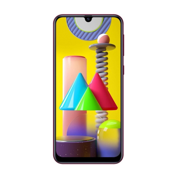 Samsung Galaxy M31 (красный)