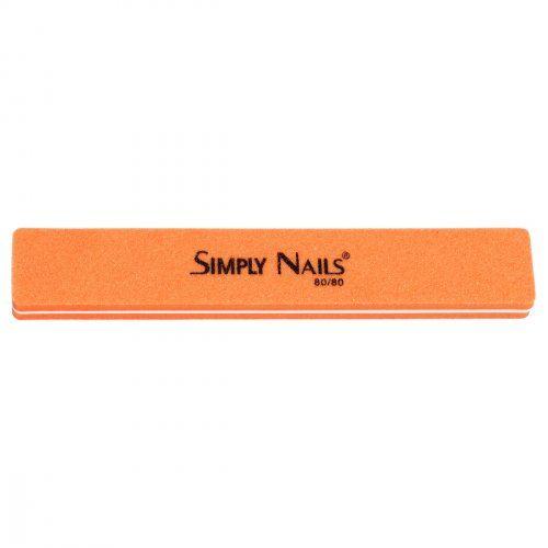 Полировка-шлифовка оранжевая, прямоугольная, 80/80 грит   SOFIPROFI