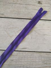 молния спираль длинная 90см фиолет