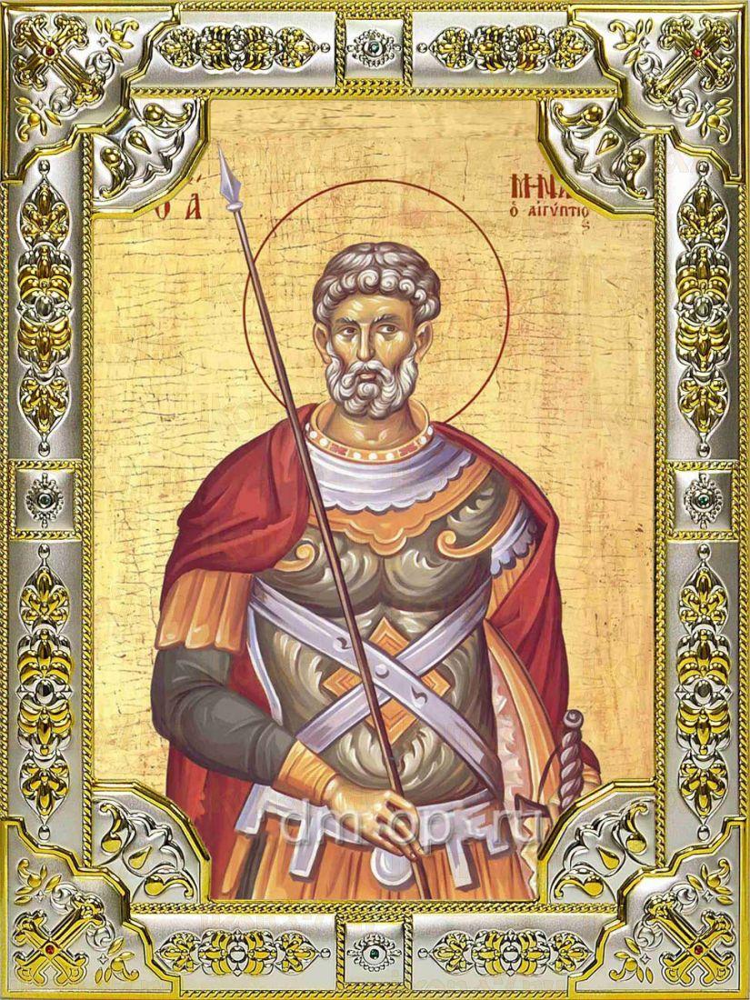 Икона Мина Котуанский великомученик (18х24)