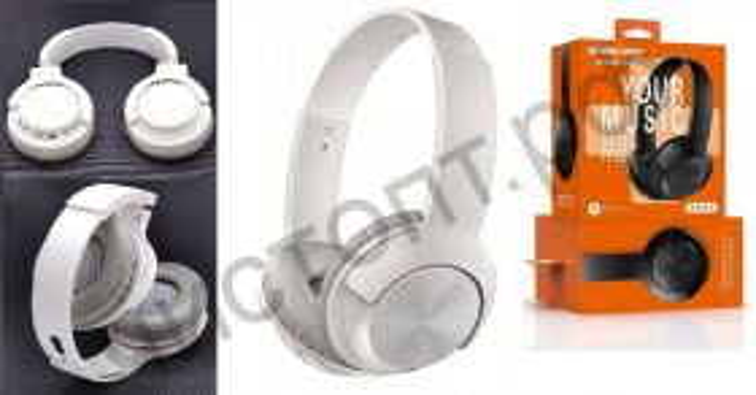 Bluetooth гарнитура стерео KADUM KD52 Белые