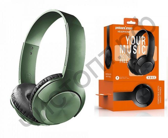 Bluetooth гарнитура стерео KADUM KD52 Зеленые