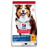 Hill's Canine Science Plan Mature Adult 7+ Medium with Chicken - Для пожилых собак средних пород с курицей (12 кг)