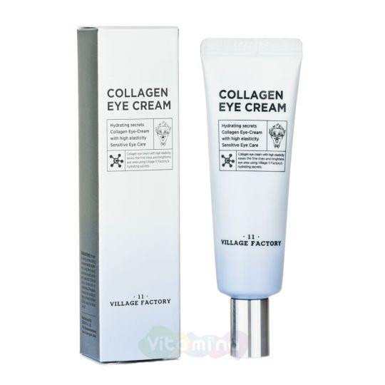Village 11 Factory Увлажняющий крем для области вокруг глаз с коллагеном Collagen Eye Cream, 25 мл