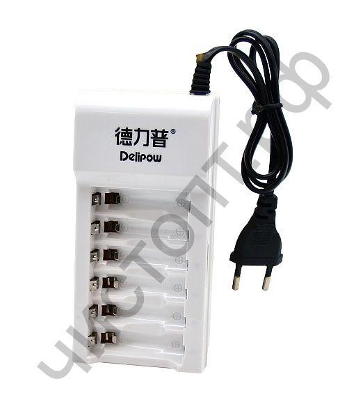 Заряд.уст-во DELIPOW DLP-602 (6*AA/AAA)