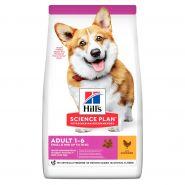 Hill's Canine Adult Small & Miniature Chicken & Turkey - Для собак мелких и миниатюрных пород (6 кг)