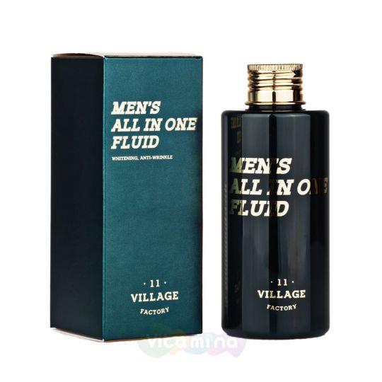 Village 11 Factory Увлажняющий флюид для мужчин Men's All in One Fluid, 150 мл
