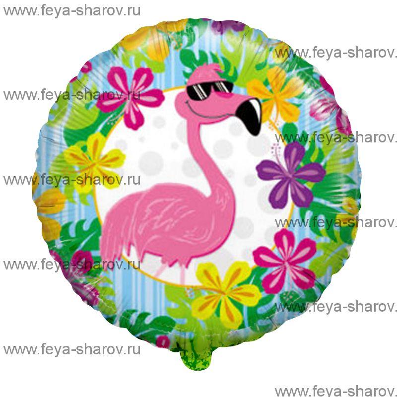 Шар фламинго 46 см