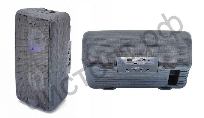 Колонка универс.с радио OT-SPB101 Черный 10вт