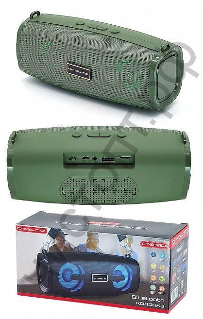 Колонка универс.с радио OT-SPB104 Зеленый 6вт