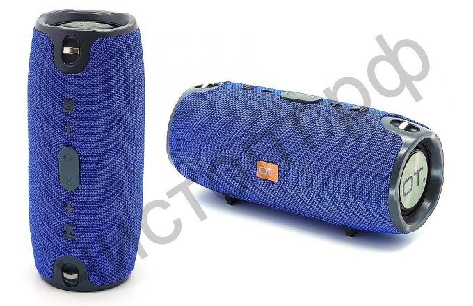 Колонка универс.с радио OT-SPB23 Синий (S6S) (TF, USB, FM, порт аккум)