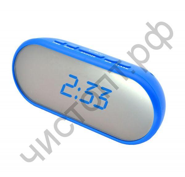 Часы  эл. сетев. VST712Y-5 син.цифры (без блока) (5В)