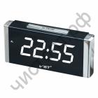 Часы  эл. сетев. VST731T-6 бел.цифры (говорящие)
