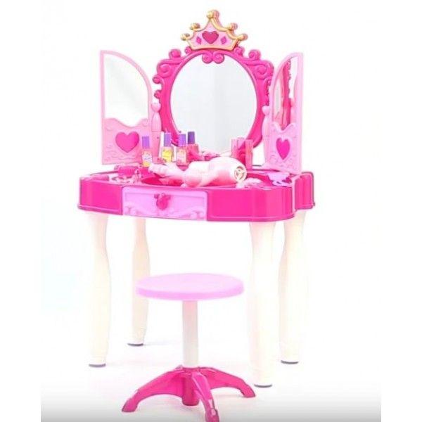 661-21 Детское трюмо туалетный столик со стульчиком