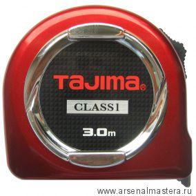Рулетка TAJIMA HI LOCK CLASS 1 3 м / 16 мм H1630MW