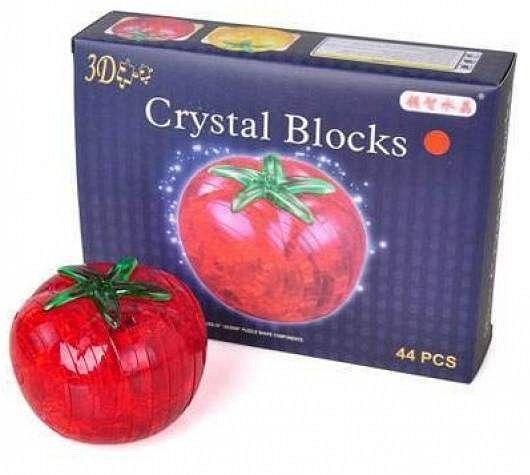 3D-пазл Магический Кристалл Помидор со светом (9041А), 45 дет.
