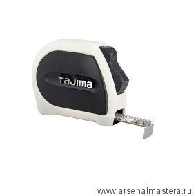 Рулетка TAJIMA SIGMA STOP 3 м / 16 мм с двойным фиксатором SS630MG