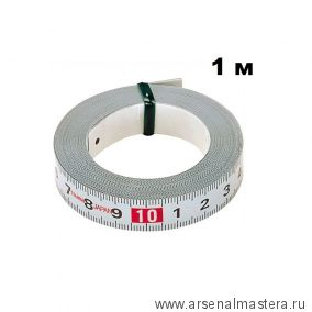 Самоклеящаяся стальная мерная лента TAJIMA Pit Measure 1 м / 13 мм PIT-10 PIT10MWL001-1