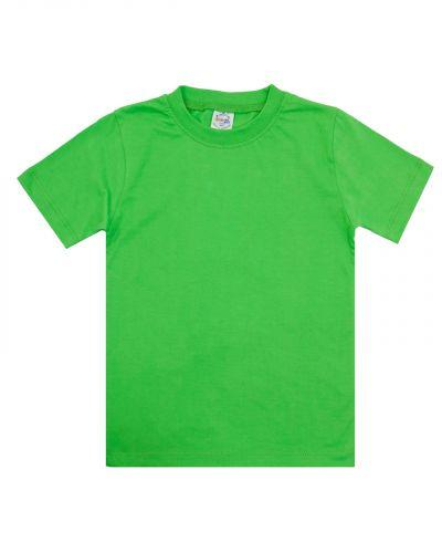 Однотонная Футболка для детей 4-8 лет Bonito BK165F зеленая